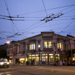 SFrancisco Light Rail Intersection — Stock Photo #2192357