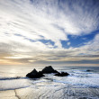 Stock Photo: West Coast Shore at Sunset - Vertical
