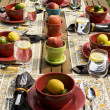 Outdoor Dinner Party — Stock Photo #2193042