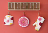 Fun and Colorful Kitchen Decor — Stock Photo