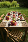 Outdoor Entertaining — Stock Photo