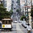 streetcar in san francisco — Stock Photo
