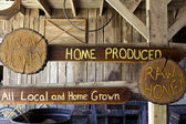 All Local and Home Grown — Stok fotoğraf