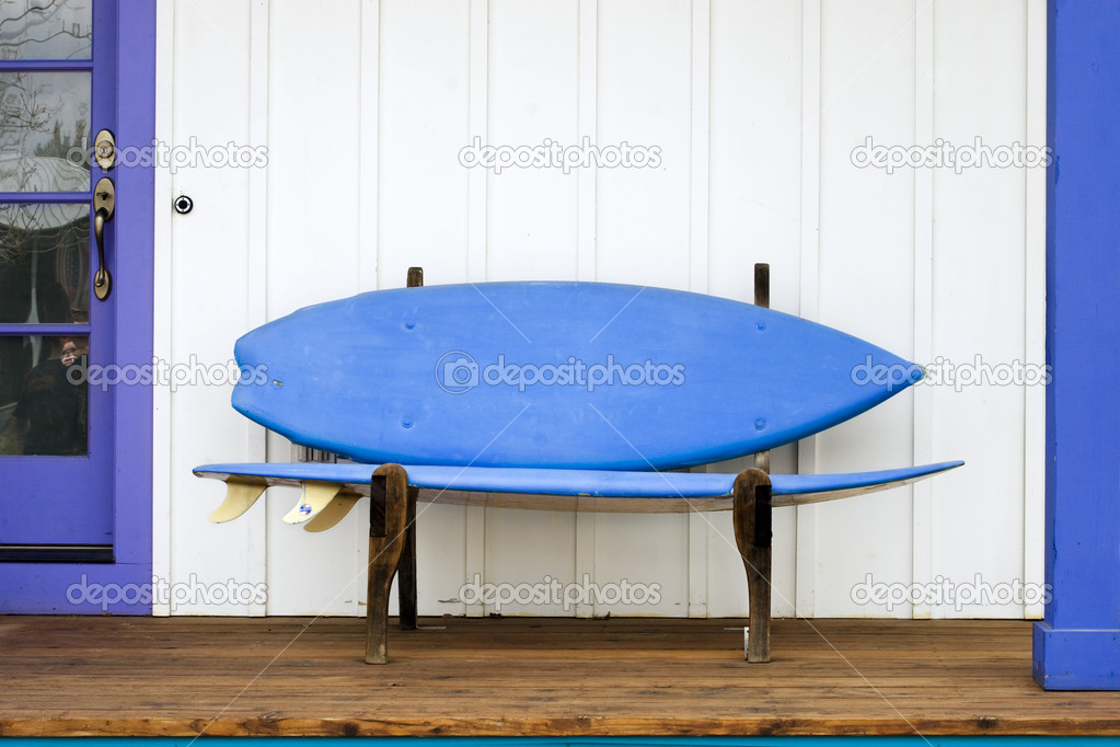 Surfboard Bench Stock Photo Photokitchen 2293357