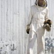 Laughing Beekeeper — Stock Photo