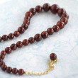 Royalty-Free Stock Photo: Maroon Necklace