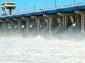 Hydroelectric station — Stok fotoğraf