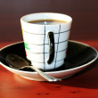 Cup hot coffee — Stockfoto