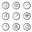 Royalty-Free Stock Photo: Iconset