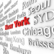 Stock Photo: Metropolis New York