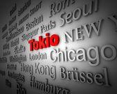 Metropolis Tokyo — Stock Photo