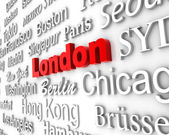 Metropolis London — Stock Photo