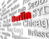 Metropolis Berlin — Stock Photo