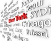 Metropolis New York — Stock Photo