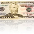 Fifty dollar bill. — Stock Photo
