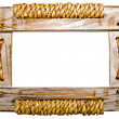 Стоковое фото: Picture frame on white background