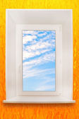 Window. With clipping path. — ストック写真