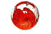 стеклянный шар — Стоковое фото