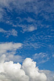 Le ciel avec nuages. — Photo
