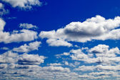 The beautiful sky with clouds — Stock Photo