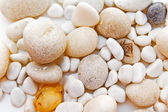 Witte stenen. — Stockfoto