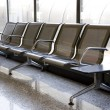 Airport seats — Stock Photo