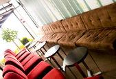 Modern lounge interior — Stock Photo
