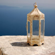 Постер, плакат: Vintage candle holder in Santorini