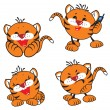 Small tiger — Stock Vector #2179608