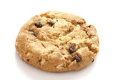 Single chocolate chip cookies — Stock Photo