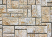 Sandstone wall — Stock Photo