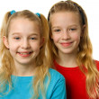 Two young blonde girls — Stock Photo #2175933