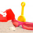 Beach stuff — Stock Photo