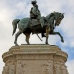 Vittorio Emanuele II in Rome — Stock Photo #2177580