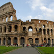 Colosseum in Rome - Foto Stock