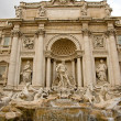 Fountain Di Trevi Rome — Stock Photo