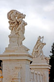 Piazza Venezia in Rome — Stock Photo