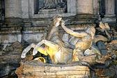 View of Fountain Di Trevi in Rome — Stock Photo