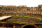 Inside of the coloseum in Rome, Italy — Stock Photo
