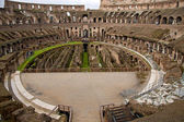 Inside the Colosseum in Rome — Stock Photo