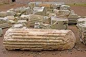 Ruin debris in Rome, Italy — Stock Photo