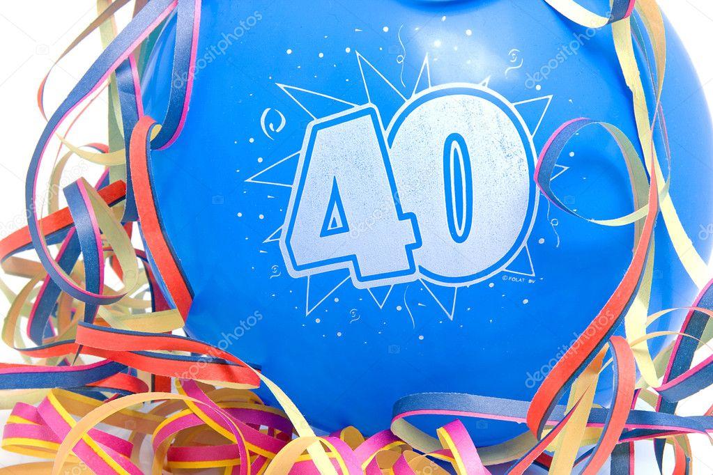 Фото поздравление на 40 лет