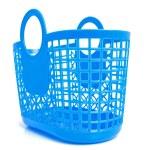 blauwe plastic boodschappentas — Stockfoto #2206465