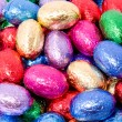 Chocolate easter eggs — Stock Photo #2379891