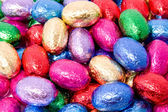 Chocolate easter eggs — Foto de Stock