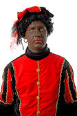Zwarte piet Dutch character — Stock Photo