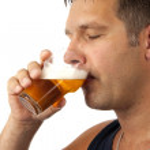 Man drinks beer — Stock Photo #2663938