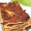 Plate of lasagna — Stock Photo #2188589