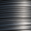 Aluminum wire — Stock Photo