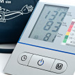 Stock Photo: Electronic sphygmomanometer